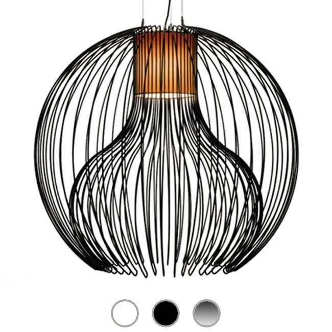 Modoluce Lampe à suspension Icaro Ball Mega 1 lumière E27 Ø 90 cm