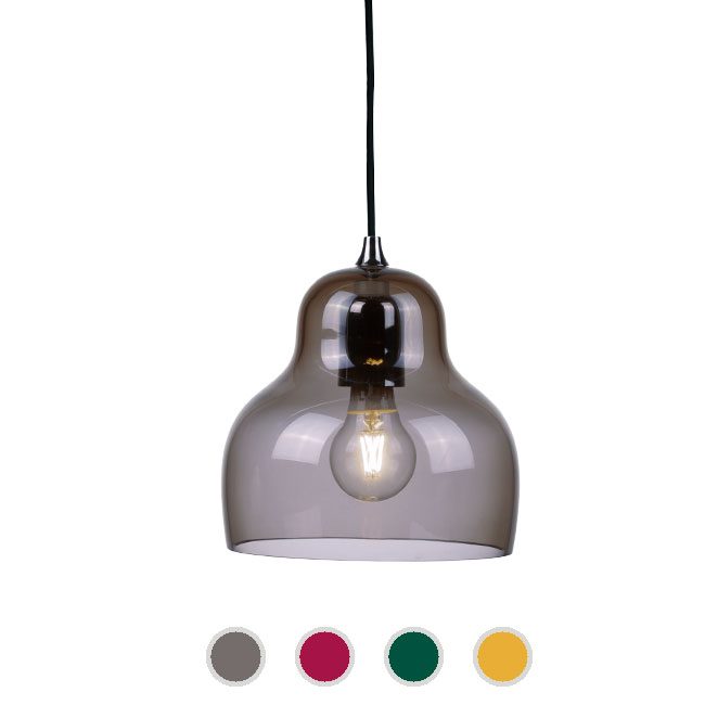 Innermost Lampe à suspension Jelly 1 Lumière E27 Ø 22 cm