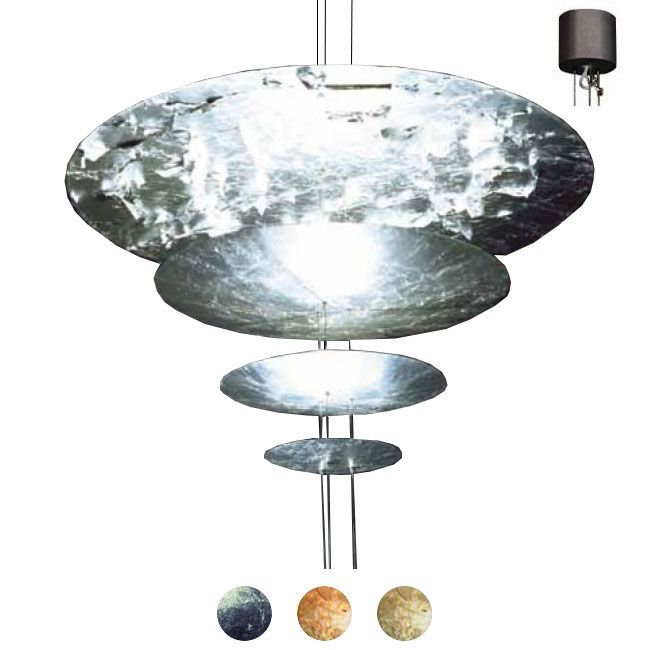 Catellani & Smith Lampe à suspension Macchina Della Luce F 4 Lumières GY6.35 H 145 cm