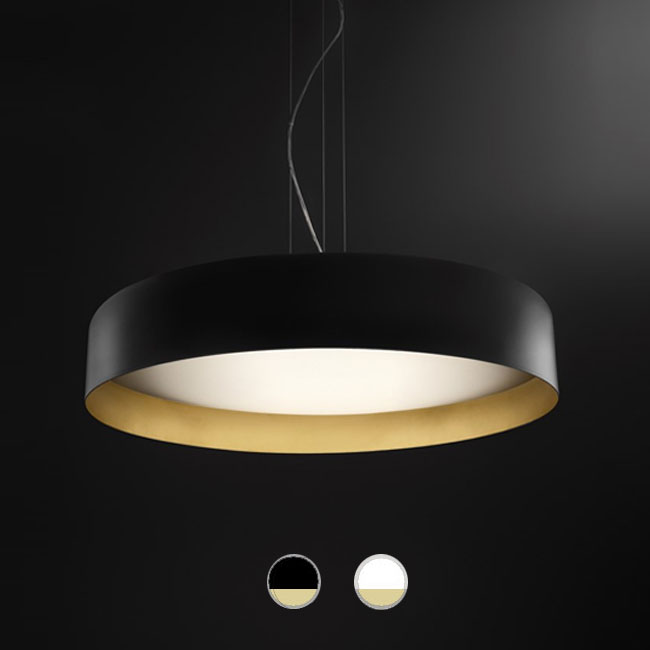 Panzeri Lampe à suspension Ginevra LED 82W IP20 Ø 80 cm dimmable