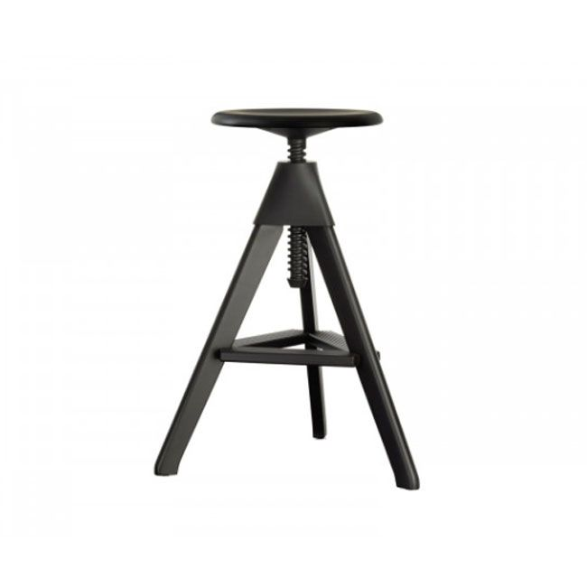 Magis Tabouret Tom The Wild Bunch H max 66 cm noir